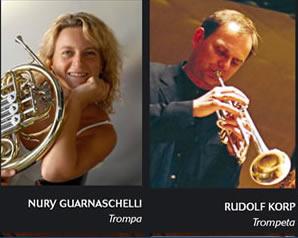 Nury y Rudy en la Concertante de Barcelona