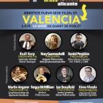 Cartel Brass Academy Alicante - Valencia
